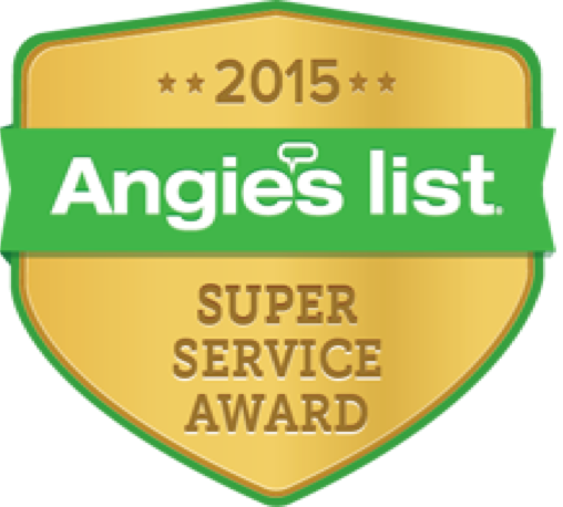 2015 Angie's List Super Service Award for Roofing in Milwaukee and Waukesha